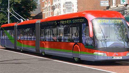 Arnhem bi-articulated trolleybus