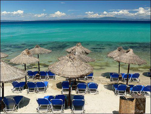 Athitos beach, Kassandra, Nothern Greece.