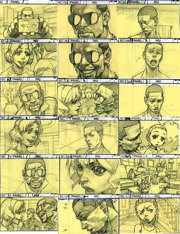 The Boondocks Story Board by *kse332 on deviantART