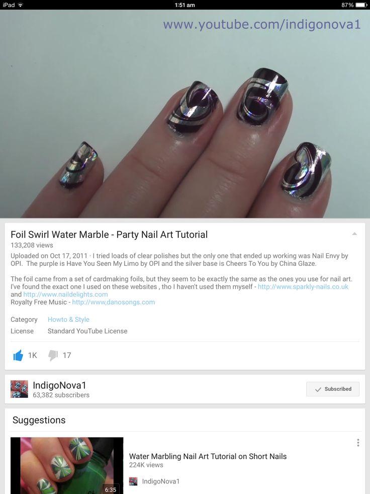 386 best Marbling nailart images on Pinterest