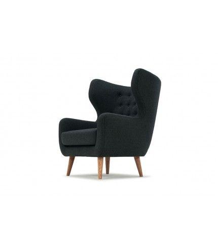 Craig, Chair, Andie antracit #sofacompanynl #oorstoel #deensdesign