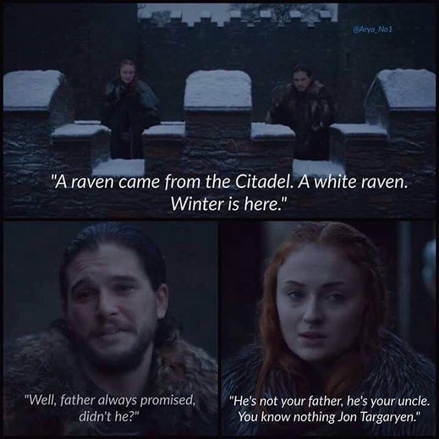 You know nothing, Jon Targaryen  #jonsnow #kitharington #gameofthrones #hbo