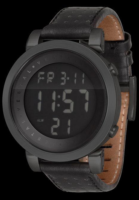 Vestal DDL001 Midnight Black Doppler Digital #vestal #watch