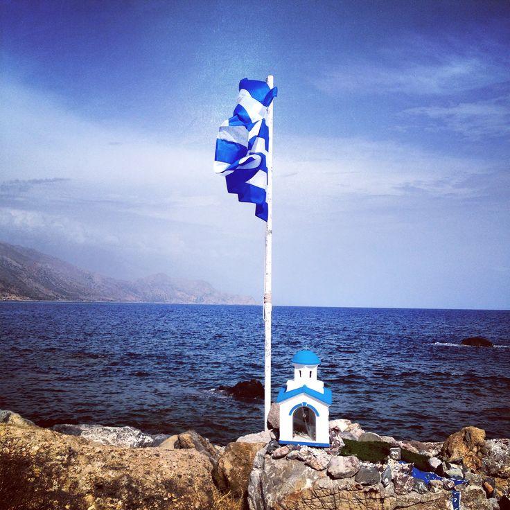 seen in #Paleochora in the southwest of #Crete