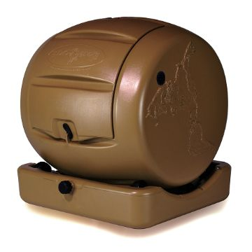 Envirocycle Mini Compact Urban Patio Compost Tumbler   Life Doesnu0027t Get  Much Better Than