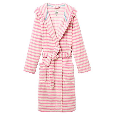 Buy Joules Rita Stripe Robe Online at johnlewis.com