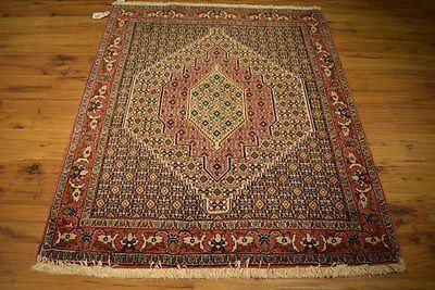Oriental design Rug 4x5 Persian Durable Handmade High End Cheap Rugs online
