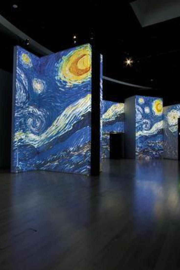 """""""Van Gogh Alive - The Experience"""": a Roma lesperienza multisensoriale attraverso le opere del pittore"""