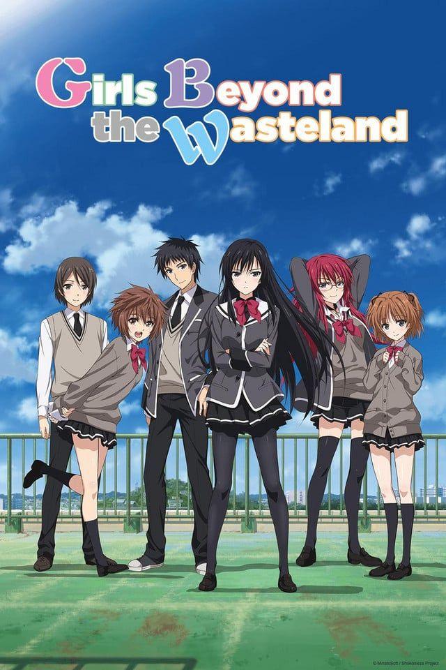 Girls Beyond The Wasteland Shoujo Tachi Wa Kouya Wo Mezasu Anime Anime Movies Anime Lovers