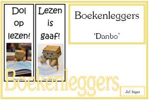 Boekenleggers Danbo - Juf Inger