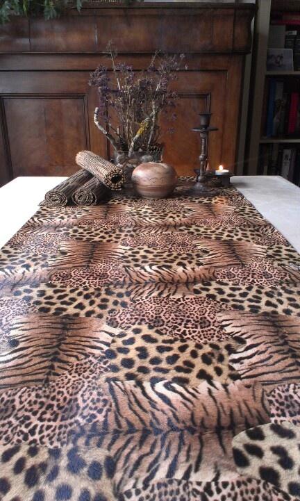 10 best mantelerias estampadas images on pinterest table - Caminos de mesa zara home ...