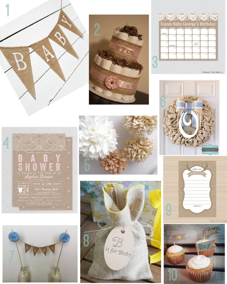 1000 ideas about burlap baby showers on pinterest burlap baby baby