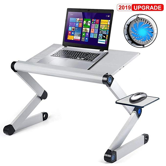 Aluminum Laptop Stand Adjustable Laptop Desk Table For Office Dorm