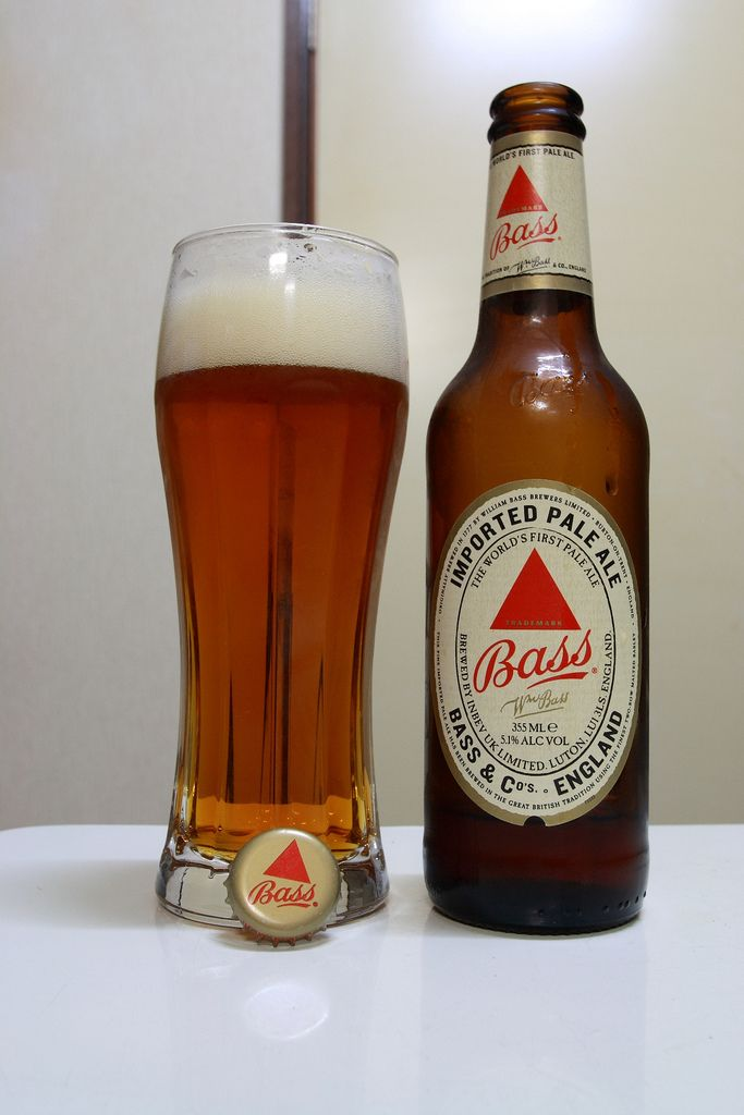 Bass Pale Ale (England) My favorite ale, pretty much killed off in the States by the current IPA trend and the Bud-InBev merger...