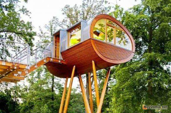 Детский домик на дереве - 2