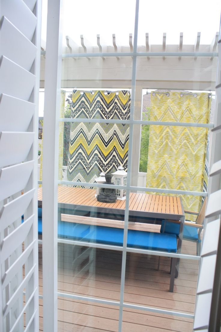 Outdoor Fabric Panels For Privacy And Color