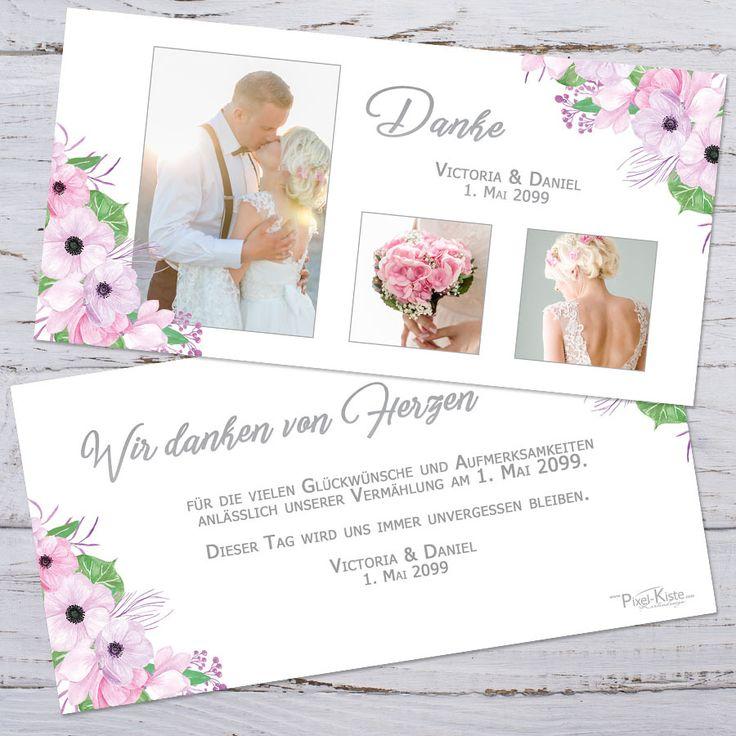 28 best Hochzeit Danksagungen images on Pinterest ...
