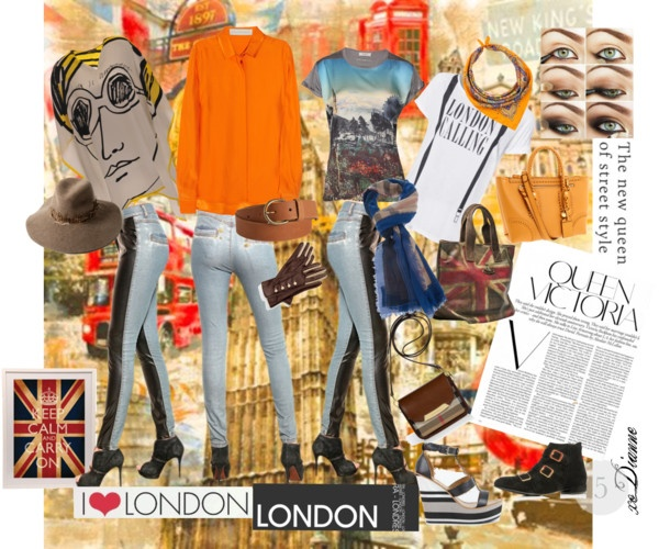 """01.18.13 - Keep Calm and Carry On: London Calling"" by dianne-lee on Polyvore"