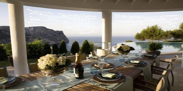 Outdoor Dining Room Design