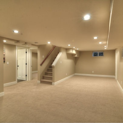 Basement color pallet sherwin williams macadamia paint colors pinterest paint colors - Finish basement design ...