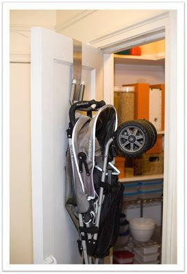 Stroller Storage At Last - Project Nursery