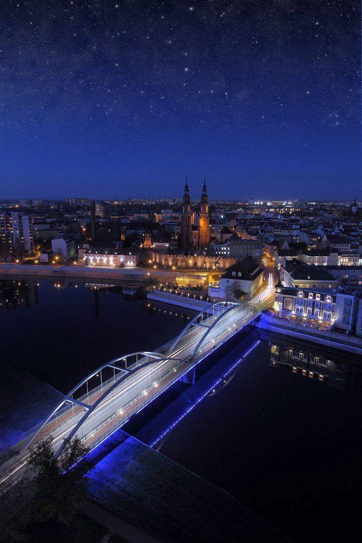 Dobranoc Opole, Good night Opole!, Opole Poland at night