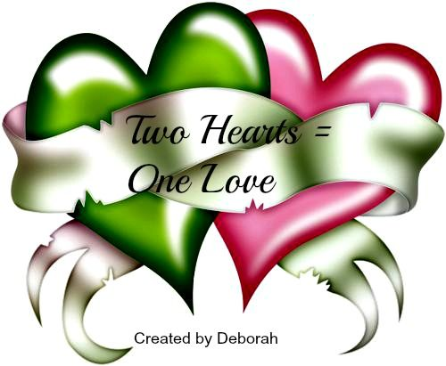 Two Hearts = One Love