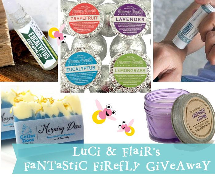 Great Giveaway from CatchingFireflies.com - ends 2.25.15  aromatherapy giveaway | creative gift ideas & news at catching fireflies