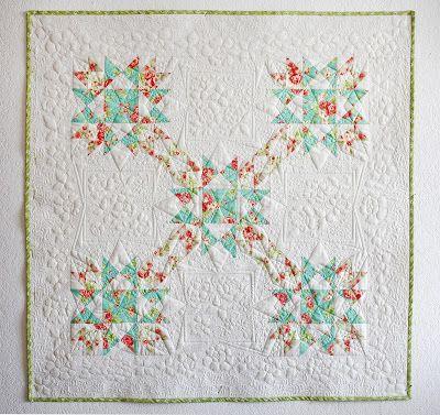 Spring quilt for babygirl