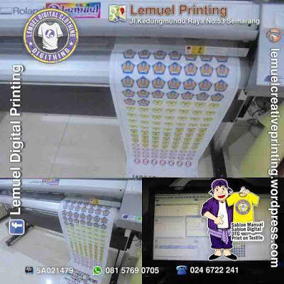 Custom Print & Cut Logo/Emblem Jersey Siap Heat Press Berkualitas by DIGITHING