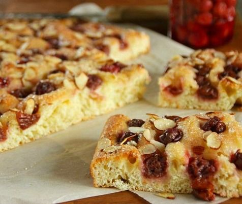 cherry almond focaccia sour cherry pie perfect sour cherry jam sour ...