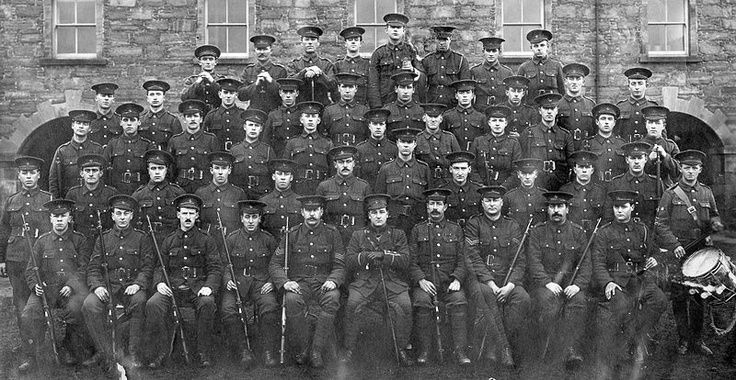 Over 700 of the nearly 800 men in the Royal Newfoundland Regiment were killed in the opening day of the Battle of the Somme, near Beaumont Hamel.  These men had come across the Atlantic from one of the smallest and least-populated Canadian provinces, and these losses had an enormous impact on life in Newfoundland, where hundreds of families in very small communities lost men that were virtually all well-known to one another. EC