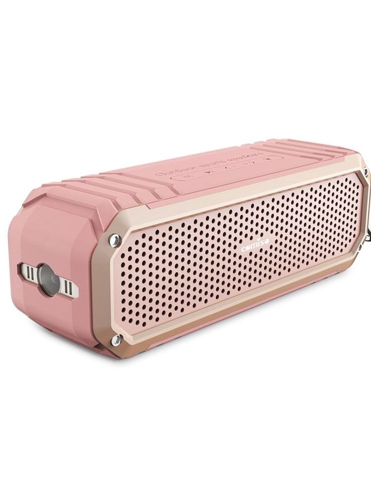 Bluetooth Speakers, COMISO [Max Audio][Rose Gold] Bluetooth Portable Speakers wi  | eBay