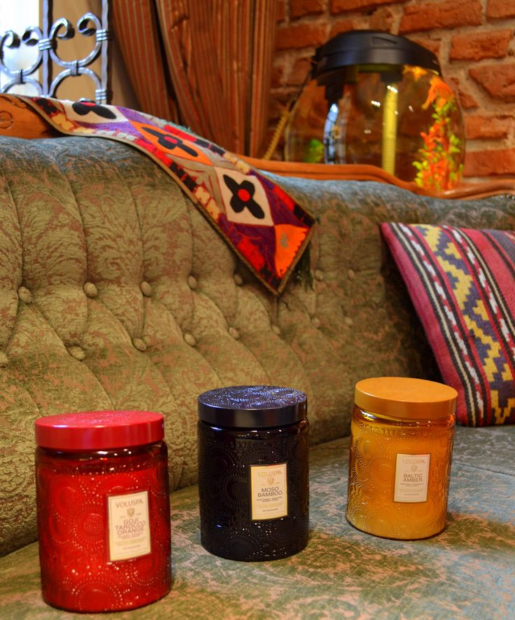 Voluspa scented candles #voluspa #candle #fragrance #home www.laurosnamai.lt