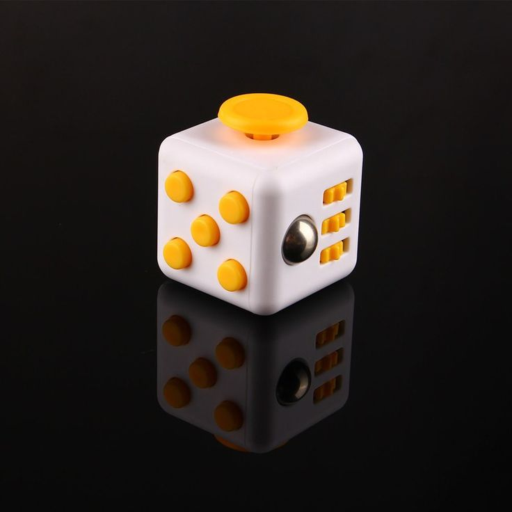 Fidget Cube - The Ultimate Stress Reliever Toy *Limited Quantities available* This item is NOT available in stores. An unusually addicting, high-quality desk toy designed to help you focus and also re