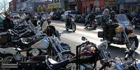 Bikers invade Port Dover on Friday the 13th - One of the biggest events in Norfolk County - http://www.norfolktourism.ca