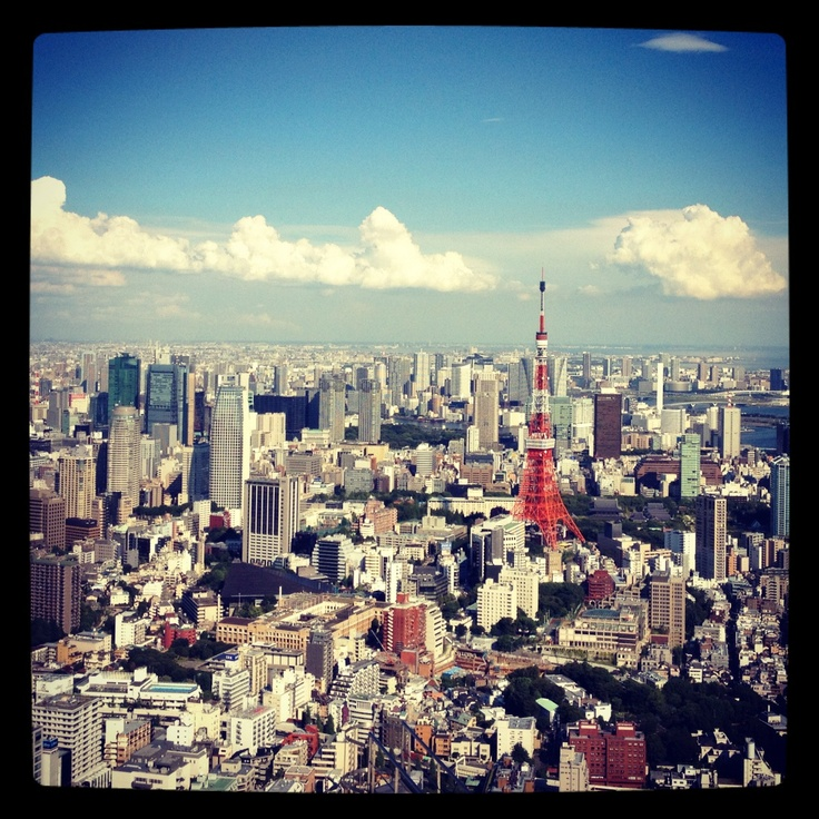 Tokyo Tower from Mori Tower