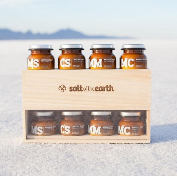 Salt Of The Earth at Louella Belle #SaltOfTheEarth #SaltSpa #Salon #Spa #Treatment #LouellaBelle