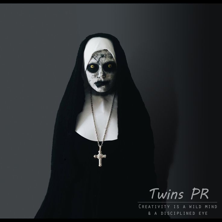 """The Conjuring nun"" The second SFX we ever did😅  SFX makeup by; @synnepr @linneapr (instagram) Costume by; @synnepr @linneapr  Model; @marenfongen  Edited by; @synnepr  Photo by; @synnepr  Camera; Canon 1200D Edited in Photoshop CC and Lightroom"