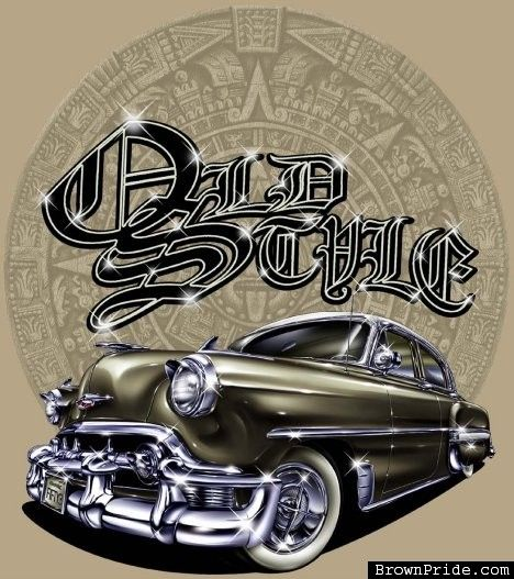 Old Style Lowrider Style Arte