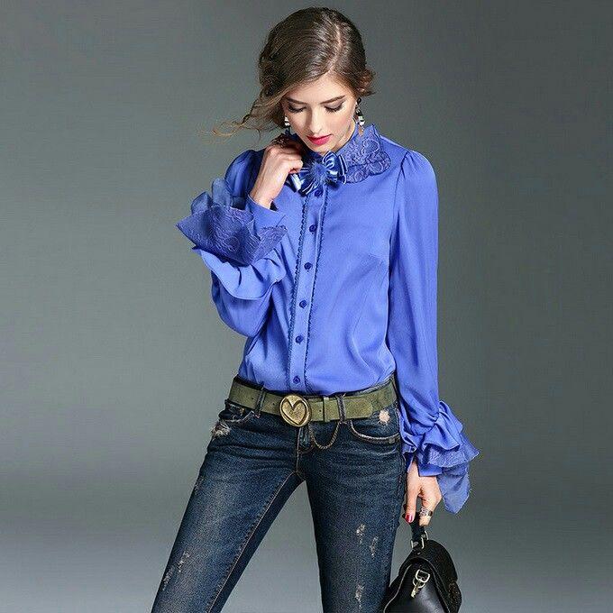 высказывания блуза из шелка под джинсы фото многими сочетание водной