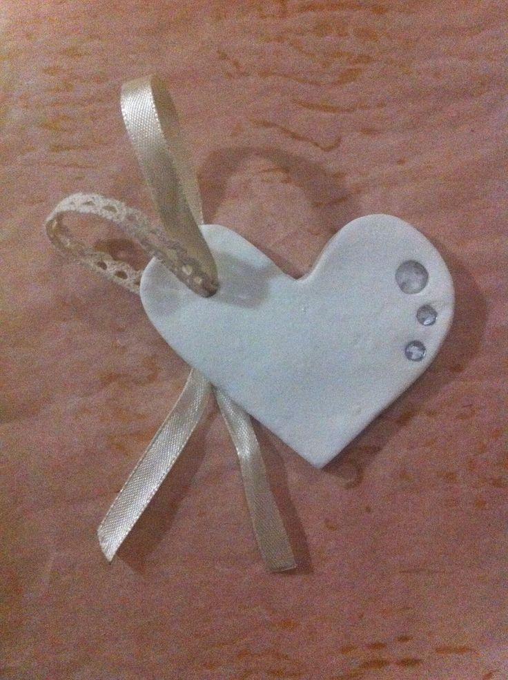 Heart favor |wedding time | myhope #handmade #favors #vintage #theday