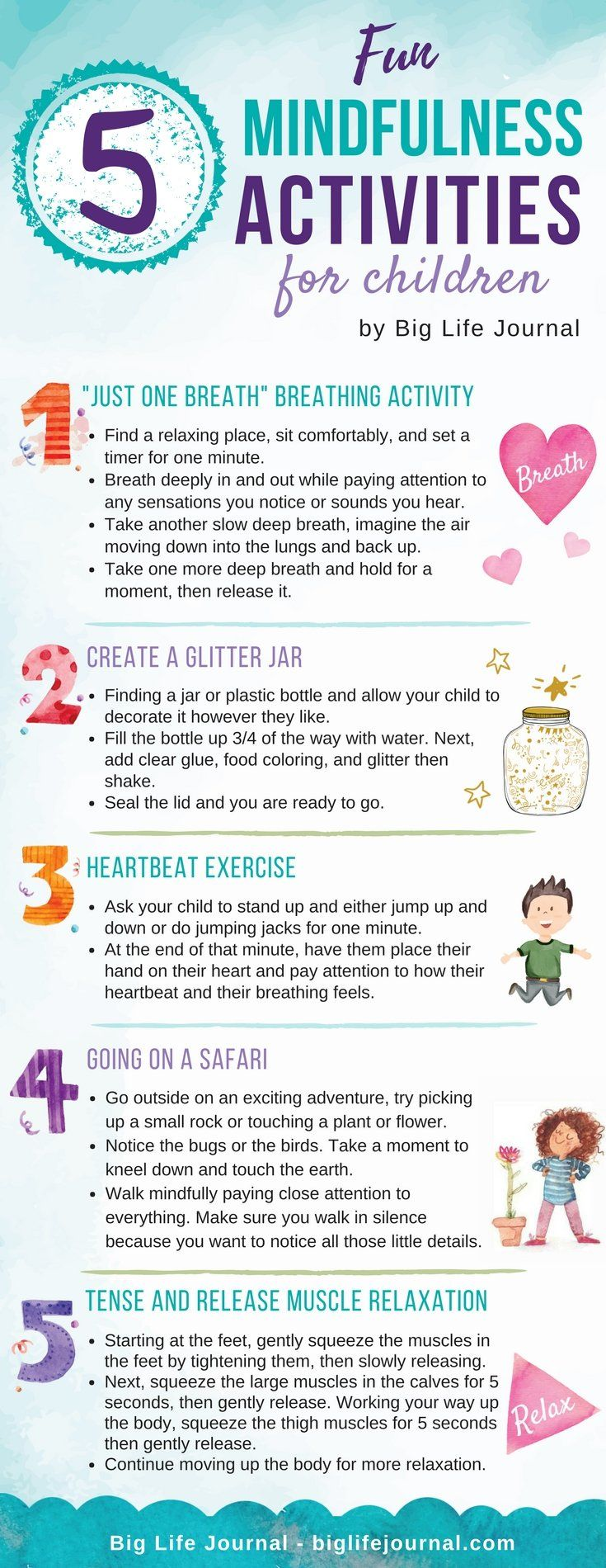 5 Fun Mindfulness Activities for Children – Big Life Journal