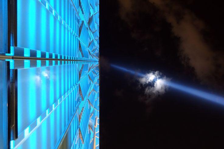 Tribute in Light (September 11th Memorial) and One World Trade Center, New York