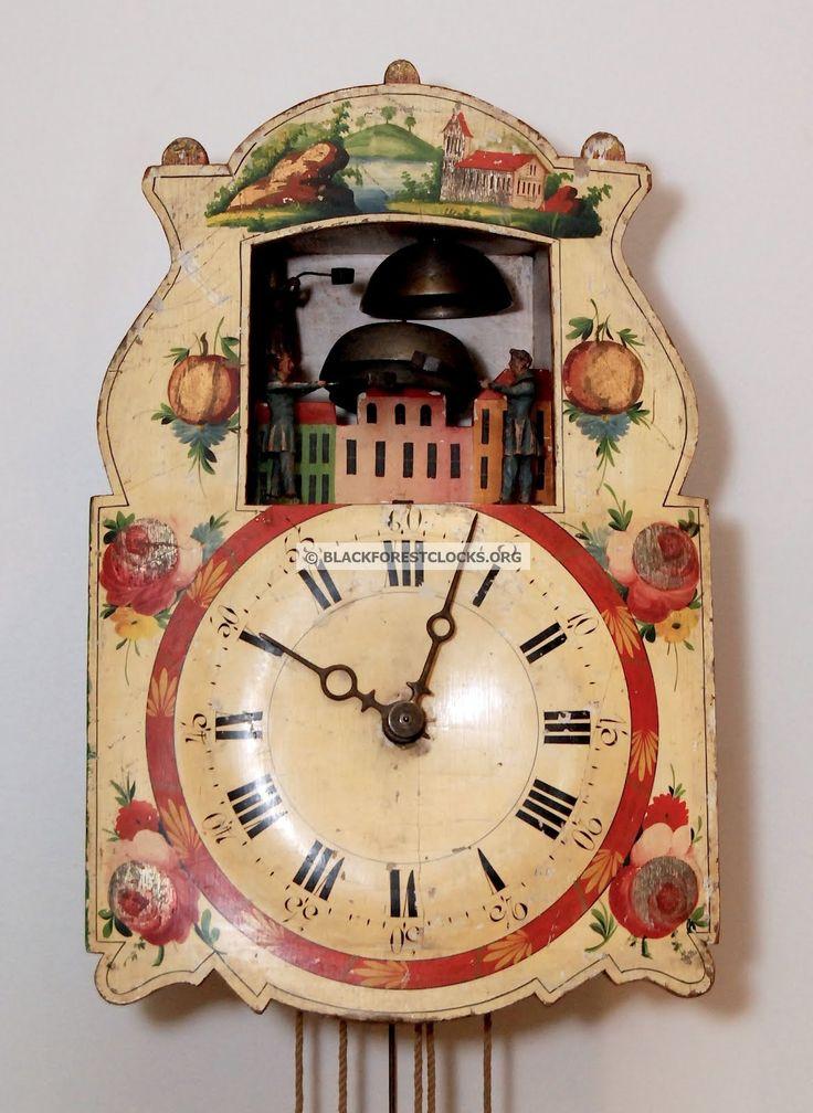 Black Forest Clocks Rare Black Forest Glockenschl Ger