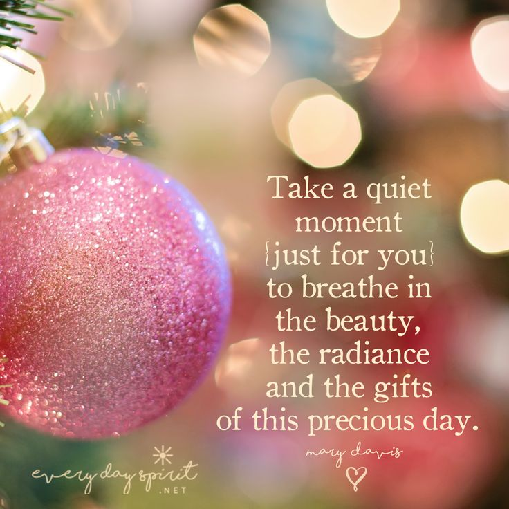 In a few quiet moments we can untie the knots, undo the stress and unleash the spirit. xo See the beautiful inspirational book ~ https://www.everydayspirit.net/the-book