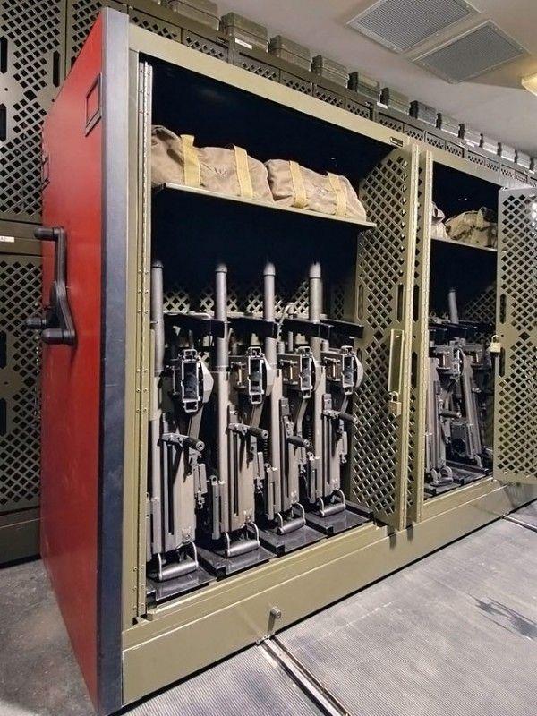 Modern Weapon Armory Decor