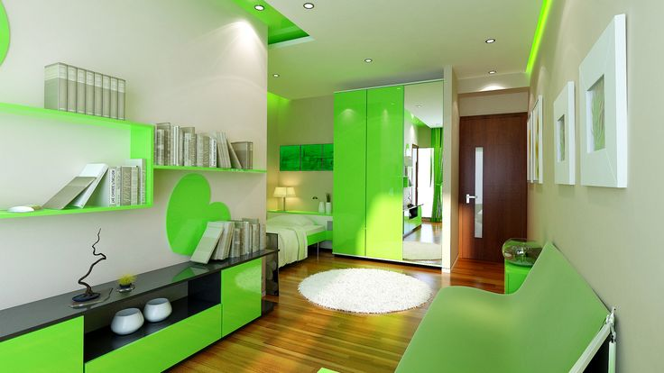 Interiors for joyful children