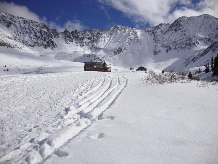 Backcountry skiing #Colorado #iResortApp #Leadville #Summit County #Gulch