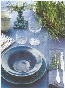 From the magazine Hemma med Ernst-Mikaela Willers - Made in Sweden - Ceramic  candlesticks / Ljusstakar